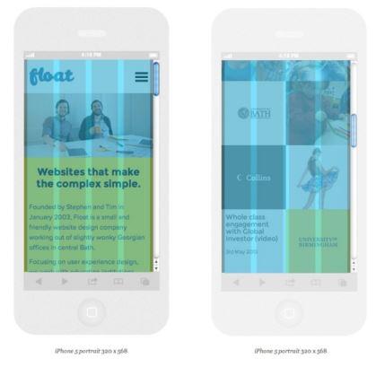 12' lik grid siteminin mobil ekrana uyarlanması